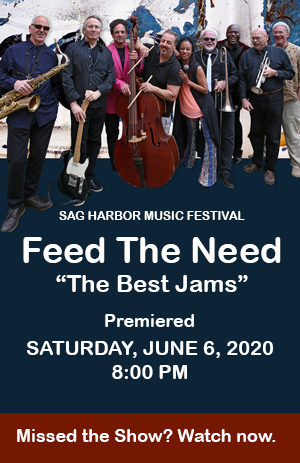 Poster - HooDoo Loungers - Sag Harbor Music Festival - Feed The Need.png